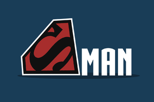 Superman Logo Minimalism