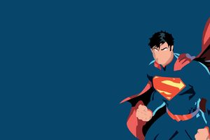 Superman Minimalism Wallpaper