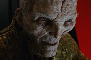 Supreme Leader Snoke Star Wars The Last Jedi