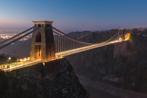Suspension Bridge Uk England Wallpaper