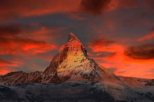 Switzerland Zermatt Mountains Wallpaper