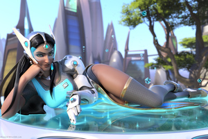 Symmetra Overwatch Artwork