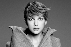 Taylor Swift Monochrome 4k 2019 Wallpaper