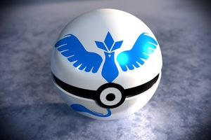 Team Mystic Pokeball