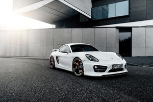 Techart Porsche Cayman 2016 Wallpaper