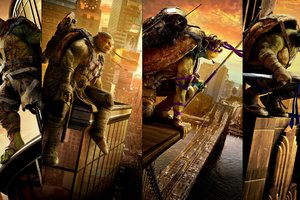 Teenage Mutant Ninja Turtles Movie Image