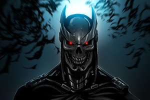 Terminator Batman Wallpaper