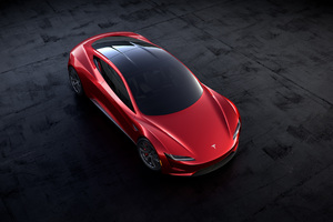 Tesla Roadster 2018 Wallpaper