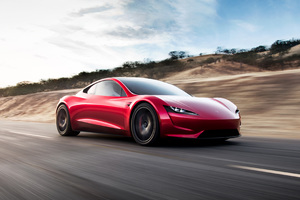 Tesla Roadster 4k Wallpaper