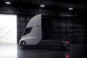 Tesla Semi Wallpaper