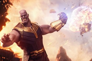 Thanos Avengers Infinity War 5k Wallpaper