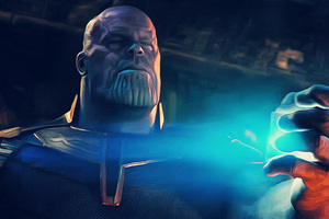 Thanos Breaking Tesseract Avengers Infinity War 2018