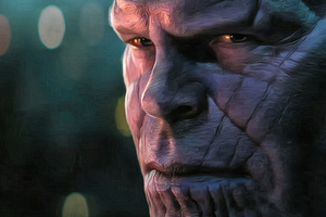 Thanos In Avengers Infinity War 2018 4k Artwork