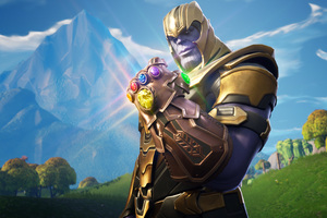 Thanos In Fortnite Battle Royale