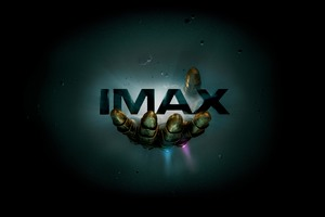 Thanos Infinity Gauntlet IMAX Poster 12k