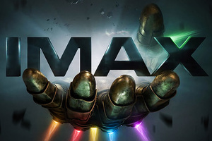 Thanos Infinity Gauntlet IMAX Poster Wallpaper