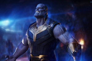 Thanos The Mad Titan 5k Wallpaper