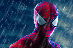 The Amazing Spider Man Closeup Wallpaper