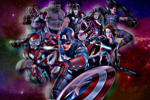 The Avengers Marvel Comics Wallpaper