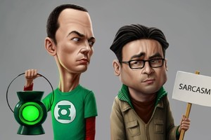 The Big Bang Theory Sarcasm