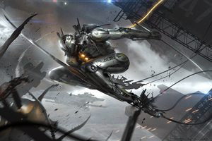 The Blade Concept Robot Humandriod Art Character Design Spaceshi Wallpaper