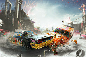 The Crew 2 Demolition Derby 4k Wallpaper