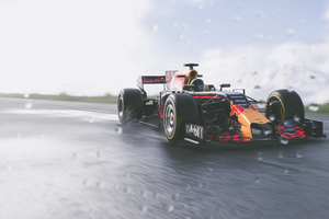 The Crew 2 Red Bull F1 Car 4k Wallpaper