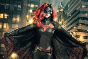 The CW Ruby Rose As Batwoman Wallpaper