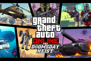 The Doomsday Heist Grand Theft Auto Online Wallpaper