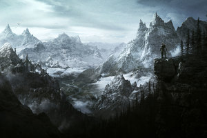 The Elder Scrolls V Skyrim Vista