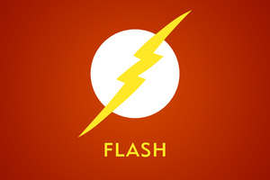 The Flash 4k Logo