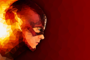 The Flash Abstract Artwork Wallpaper