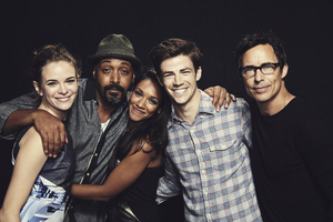The Flash Cast 5k Wallpaper