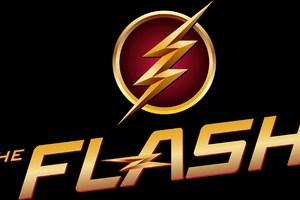 The Flash Logo 4k Wallpaper
