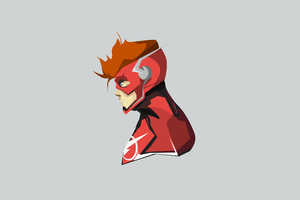 The Flash Minimalism 4k