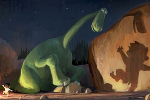 The Good Dinosaur Digital Art Wallpaper