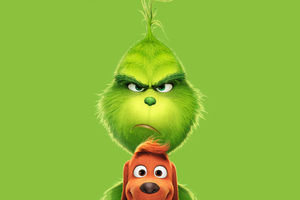 The Grinch 2018 Poster 5k Wallpaper