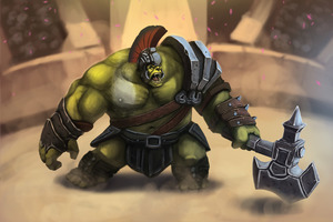 The Hulk Gladiator Artwork
