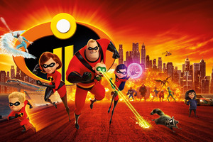 The Incredibles 2 12k