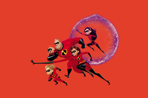 The Incredibles 2 Movie Poster 4k