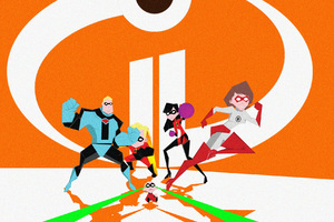 The Incredibles 2 Poster Artwork Wallpaper