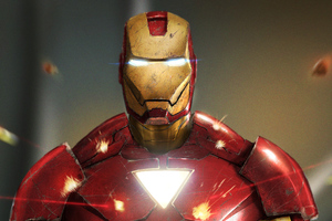 The Invincible Iron Man Art Wallpaper