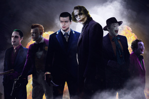 The Jokers 8k Wallpaper
