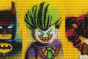 The Lego Batman Harley Quinn And Joker