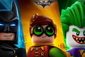 The Lego Batman Joker Robin 4k