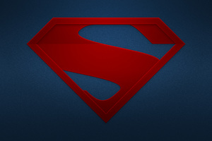 The Man Of Steel Logo Wallpaper