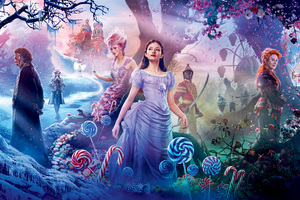 The Nutcracker And The Four Realms 2018 8k Wallpaper