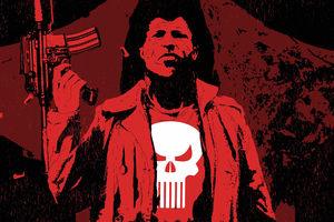 The Punisher Digital Art 4k Wallpaper