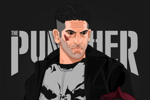 The Punisher Fan Artwork Wallpaper