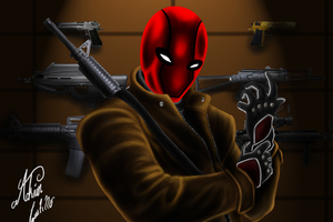 The Red Hood Wallpaper